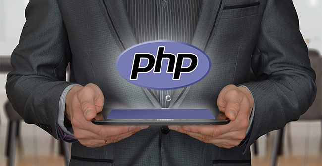 php consultancy represented by consultant with php logo